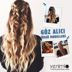 Bu sene saç örgüleri oldukça popüler. Uzun saçlı kadınlar için bu model hem çok rahat hem de çok şık. Değişik modellerle hem günlük yaşantıda hem de özel günlerde rahatlıkla tercih edebilirsiniz. İşte en dikkat çekici ve şık saç örgüsü modelleri... http://yenimio.com/yasam/118-guzellik/340-goz-alici-sac-orguleri.html #hairs #örgü #saçlar  #braids