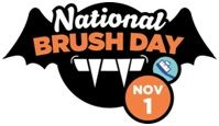 National Brush Day is celebrated on Nov. 1.