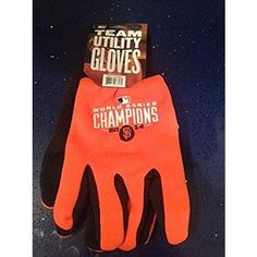 San Francisco Giants 2014 World Series Champions Work Gloves