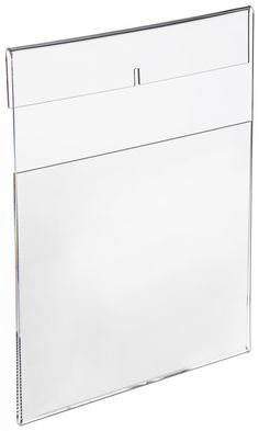 8.5 x 11 Acrylic Sign Holder for Wall Mount, Side Insert - Clear#  I AM GOING TO USE THIS FOR MY MANY 8X10'S I WANT TO PUT ON THE WALL..