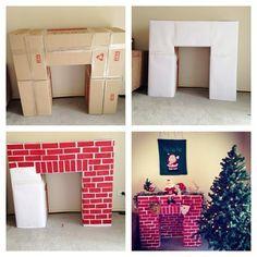MAIS OUI!!! Il faut une cheminée pour que le Père Noël puisse entrée la nuit de Noël et déposer les cadeaux sous le sapin! Et s'il y a une cheminée, il faut un foyer! Mais si vous n'en avez pas, les enfants ne croiront peut-être pas qu'un faux foyer