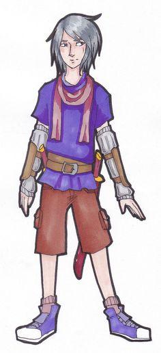 Character Design: Argon by ~far-off-light on deviantART