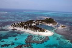 Half Moon Caye, about 3 hours by boat from Ambergris Caye in Belize.  Complete solitude