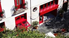Escape to the Spanish sunshine at Palma de Mallorca. A Century bank transformed into a boutique delight, in the heart of this vibrant, historical city. In The Heart, A Boutique, 19th Century, Spanish, Sunshine, City, Vibrant, Red, Majorca