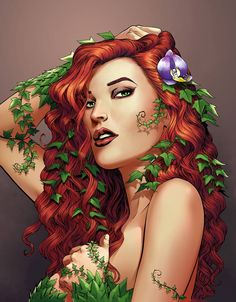 Poison Ivy by Mike S. Miller