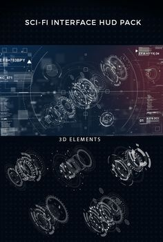 Sci-fi interface HUD on Behance Gui Interface, Interface Design, Game Design, Ui Design, Graphic Design, Visualisation, Data Visualization, Ui Elements, Design Elements