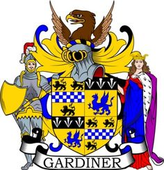 Gardiner Family Crest and Coat of Arms