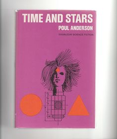 """1960s Poul Anderson vintage scifi hardcover """"Time and Stars"""" by AnemoneReadsVintage, $8.95"""