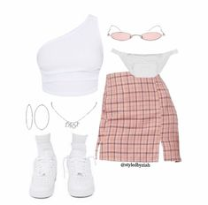 Swag Outfits For Girls, Cute Swag Outfits, Teenage Outfits, Teen Fashion Outfits, Retro Outfits, Stylish Outfits, Girl Outfits, Batman Outfits, Rock Outfits