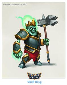 Castle Crush - Game Art Development on Behance