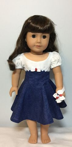 Fits like American Girl Doll Clothes or American by SewSweetbyGim