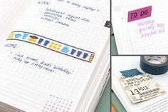 Hobonichi Techo Accessories: Washi Tapes
