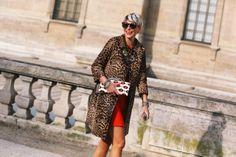 Leopard coat, yes please.