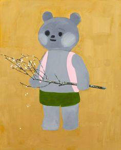 """teddy bear, 2010"" by Tomoko NAGAI, Japan"