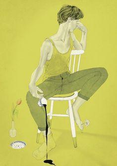 Sunday Morning - illustration by Sarah Egbert Eiersholt