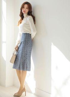 142955c6c6a 다이어트 자극사진 · 미디 스커트, 한국 패션, Target
