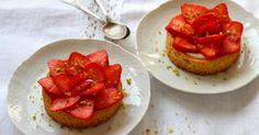 Recette - Tartelettes à la fraise façon sablé breton en pas à pas