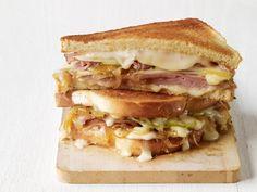 Ham-Taleggio Grilled Cheese Recipe | Food Network Kitchen | Food Network
