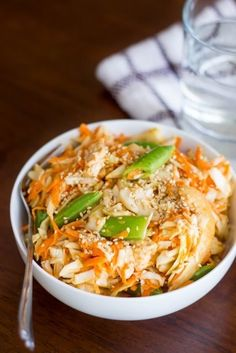 Asian Shredded Chicken Salad | 19 High-Protein Dinners Under 550 Calories You'll Actually Want To Eat
