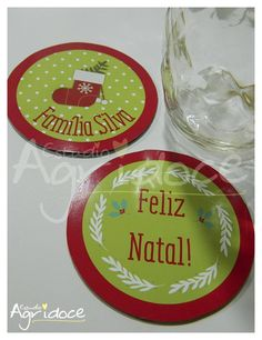 Bolacha de Chopp Natal