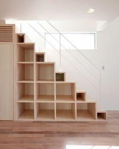 鉄骨階段 / 階段の施工例 | ローコストデザイン住宅の住人10色