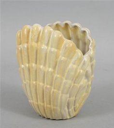 Vicke Lindstrand , vase 1940:s seashell