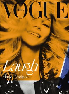 Kate Moss by Mario Testino for Vogue Italia February 2016