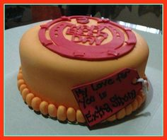red horse theme cake