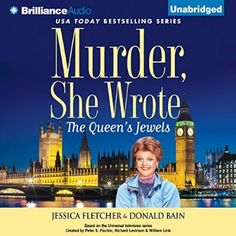 """Another must-listen from my #AudibleApp: """"Murder, She Wrote: The Queen's Jewels"""" by Jessica Fletcher, narrated by Sandra Burr."""