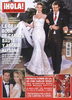 Portada de ¡HOLA!  (!HOLA!'s cover)  Spanish magazine