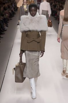 View the full Fall 2018 collection from Fendi.