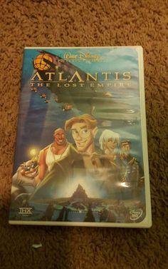 Atlantis: The Lost Empire (DVD, 2002)