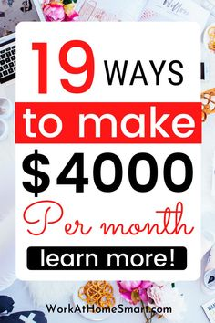Want to generate cash online? Get these 19 ways you can use to make money online from home. Adding more cash to your income is now easier than ever before. Make Money Today, Money Now, Make Easy Money, Ways To Earn Money, Earn Money From Home, Earn Money Online, Money Tips, Get Paid Online, Online Jobs