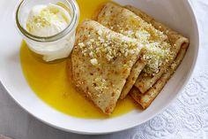 Orange crepe suzette