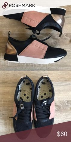 the latest d373f 679db Dolce Vita Sneakers Incredibly cute fashion sneakers by Dolce Vita - worn  one time. Fairly new.