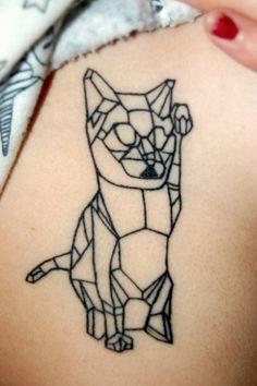 geometric cat.