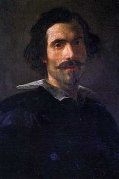 Gian Lorenzo Bernini, (1598-1630) self portrait. He was a sculptor, architect, painter, and playwright.