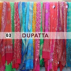 Creative way to Style Your Kurtas And Salwar Suits with these SILK BANDHANI DUPATTAS in All bright shades! For Instant Price and Queries Whatsapp - +91-9913433322