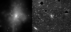 Physicists Surprise Discovery: Intracluster Light May Provide a New Way to Measure Dark Matter Dark Matter, Forms Of Matter, Astronomy Pictures, National Science Foundation, Dark Energy, Light Year, Astrophysics, Galaxies, Light In The Dark