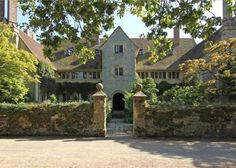 Little Thakeham, Storrington by Sir Edwin Lutyens - I have fond memories of staying there in the Summer of 1984 - beautiful home and setting . . .