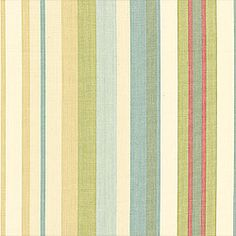 Metropolis Stripe #fabric in #sherbet from the Chelsea collection. #Thibaut