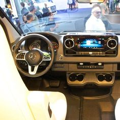 At this year's Düsseldorf Caravan Salon the Mercedes Sprinter got out of the gates a little early, finding use as a Hymer off-road camper van concept. Hymer gave us a feel for what the new generation of off-road adventure Sprinter will look like. Adventure Campers, Off Road Adventure, Mercedes Sprinter 4x4, Off Road Camper, Camper Van, Van Life, Motorhome, Caravan, Transportation