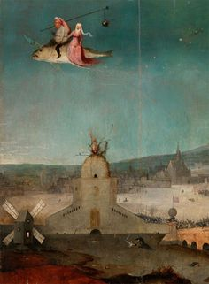 Love is a fish with transparent wings. Hieronymus Bosch
