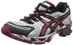 ASICS Mens GelSendai Running ShoeWhiteRedBlack6 M US * Want to know more, click on the image.
