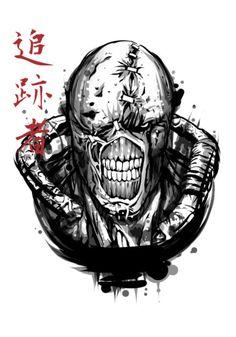Print On Demand POD Business en Ligne Dropshipping E-commerce Resident Evil 4 Ashley, Resident Evil Nemesis, Resident Evil Game, Nemesis Tattoo, Drawing Sketches, Art Drawings, Fallout Tattoo, 4 Tattoo, Lucky Tattoo