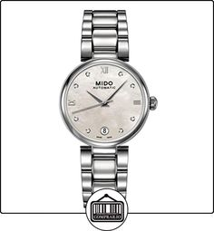 Mido mujer-reloj de pulsera analógico acero rhöna M0222071111610  ✿ Relojes para mujer - (Lujo) ✿