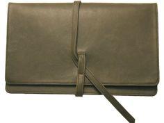 Morton & Hudson Front Flap Oversized Clutch | AHAlife