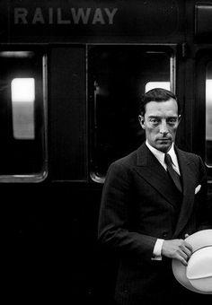 Buster Keaton boarding the Orient Express! www.kerlagons.com