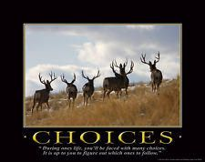... Motivational Poster Buck Antlers