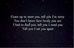 Best Coldplay Song Quotes | coldplay quotes | Tumblr
